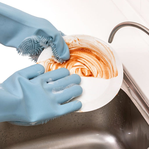 Silicone Cleaning Gloves - Challenger Gadgets
