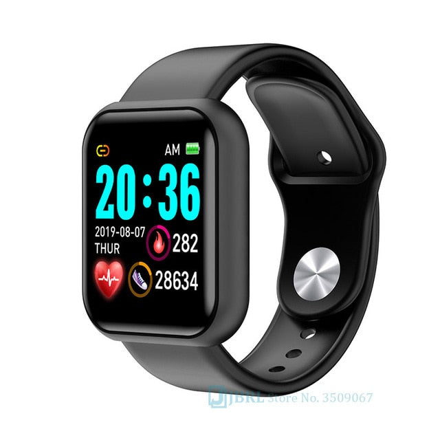 Stainless Steel Smart Watch - Challenger Gadgets