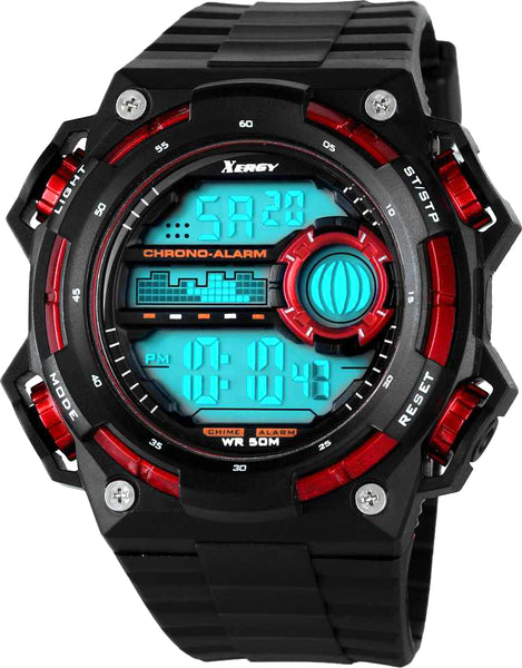 Heavyweight Chronograph Dual Time Trendy Sports Watch For Boys (5000-2)