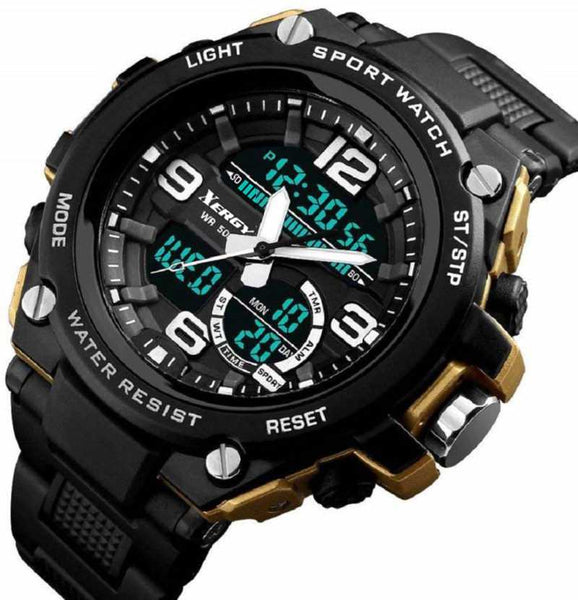Boys Analogue Digital Multi Color Sports Watch (5005-1)