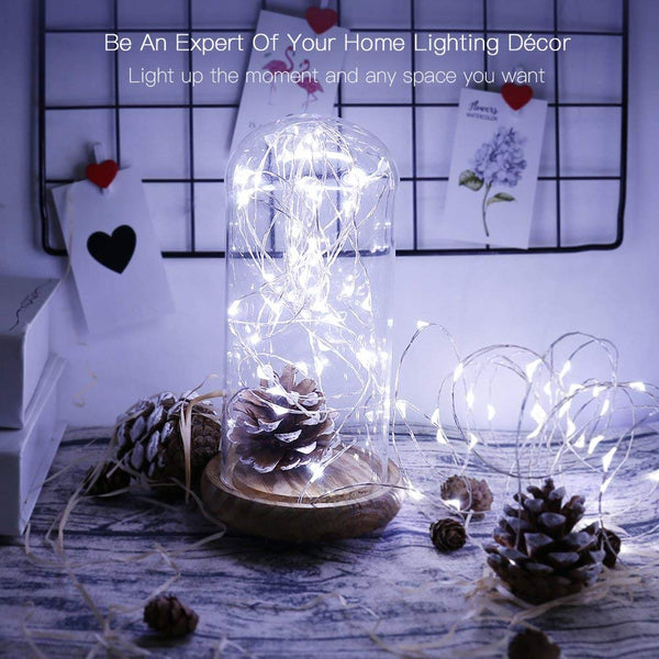 Fairy String Light 10 M 100 LED's Cool White USB Powered (Pack of 1)