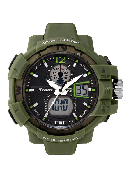 XERGY Heavyweight Analogue-Digital Multicolour Waterproof