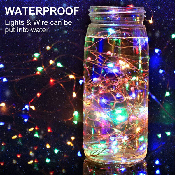 Fairy String Light 10 M 100 LED's Light Waterproof Multi Color (Pack of 1)