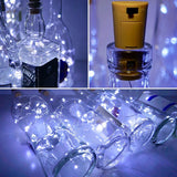 Fairy String Light Cork Shaped Cool White Bottle Light (Pack of 3)