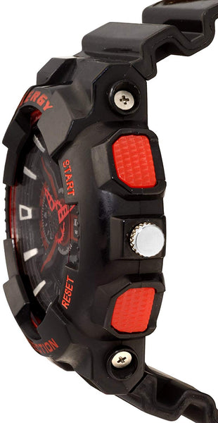 Boys Analogue Digital Multi Color Sports Watch Heavyweight (8215-1)