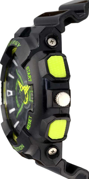 Boys Analogue Digital Multi Color Sports Watch Heavyweight (8215-3)
