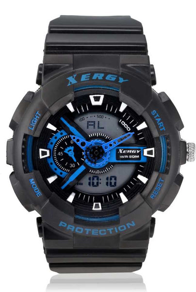 Boys Analogue Digital Multi Color Sports Watch Heavyweight (8215-4)