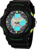 Analogue Digital Multi Color Sports Watch for Boys (8217-3)