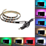 LED Flexible Strip Light Multi Color 5V USB Powered Mini Controller (2 Meter)