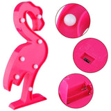 Marquee Light Flamingo Shaped Pink Color (Pack of 1)