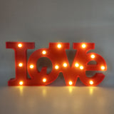 Marquee Light Love Shaped Red Color Large Size (Pack of 1)