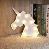 Marquee Light Unicorn Shaped white Color (Pack of 1)