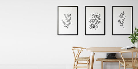 The Flower Bouquet Drawing Collection