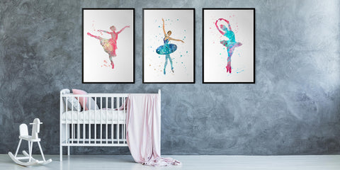 The Ballerina Wall Art Collection