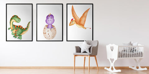 The Dinosaur Art Painting Collection