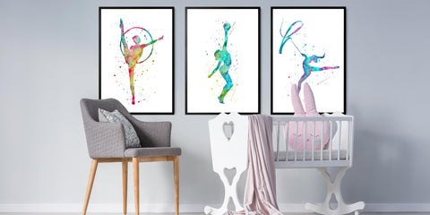 The Gymnastics Dance Art Collection