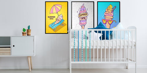 The Ice Cream Wall Art Collection