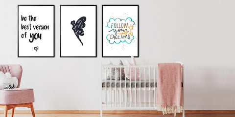 The Nursery Quote Art Collection