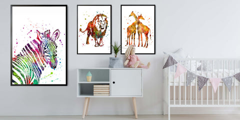 The Watercolour Animal Collection