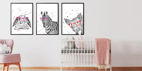The Nursery Animal Portrait Collection