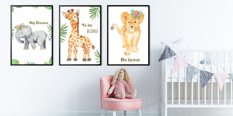 The Nursery Animal Painting Collection