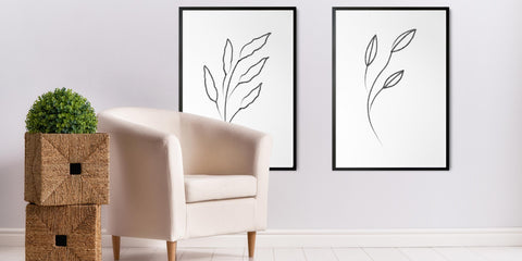 The Minimal Floral Drawing Collection