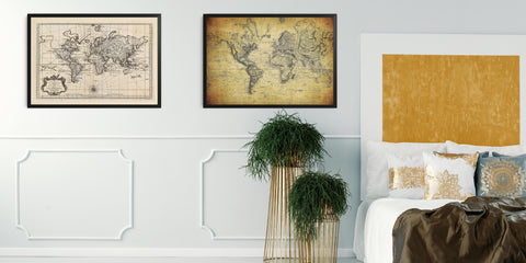 The Vintage World Map Collection