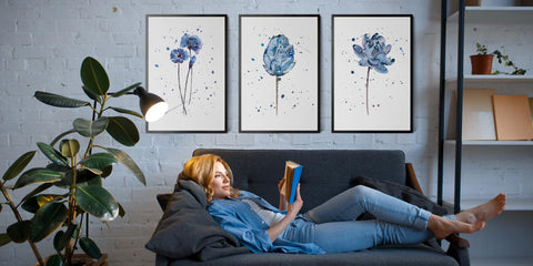 The Scandi Flower Art Collection