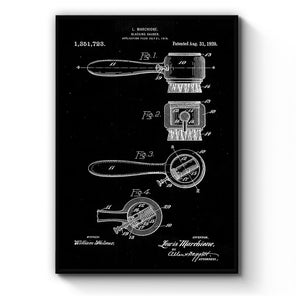 Vintage Shoe Repair Patent Wall Art - The Affordable Art Company