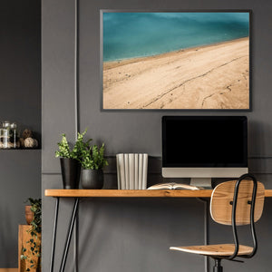 Summer Beach Coastal Photograph Wall Art - The Affordable Art Company