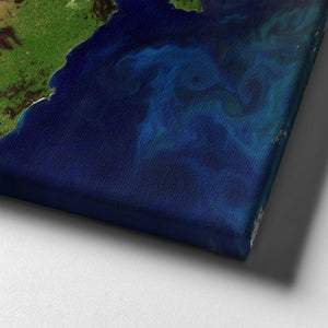 Victoria, Australia Satellite Photograph Wall Art - The Affordable Art Company