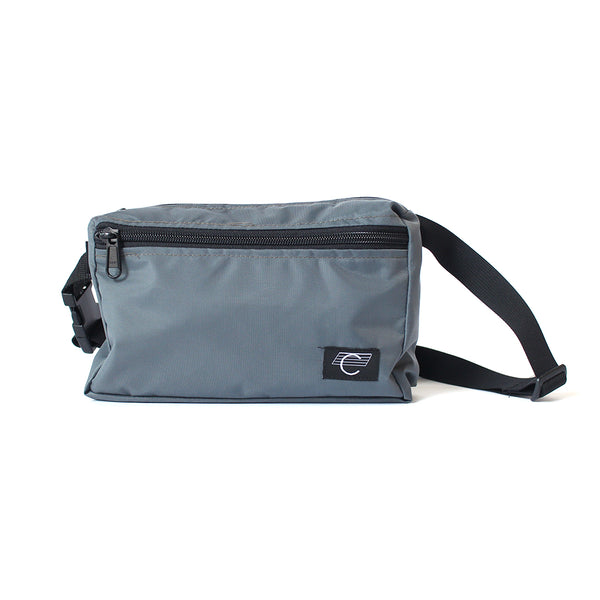 "COMA - 2020 Hip Bag ""Chacoal Gray / White Logo"""