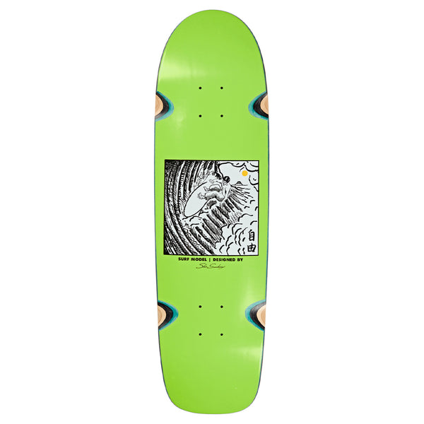 "POLAR - Shin Sanbongi - Freedom - Wheel Well ""Lime"" Surf Sr. 9"""