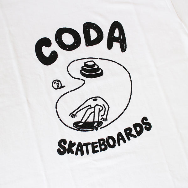 "CODA - Pool Tee ""White"""