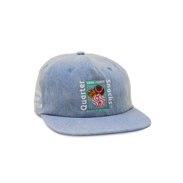 "QUARTERSNACKS  - Party Cap ""Denim"""