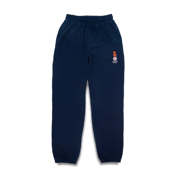 "QUARTERSNACKS  - Snackman Sweatpants ""Navy"""