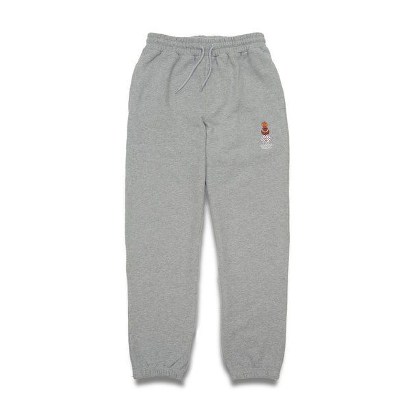 "QUARTERSNACKS  - Snackman Sweatpants ""Heather Grey"""