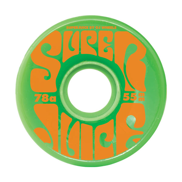 OJ WHEELS - Super Juice mini 55mm 78A Green
