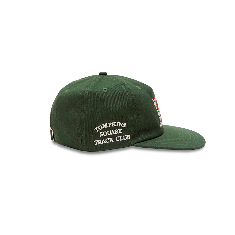 "QUARTERSNACKS  - Party Cap ""Forrest Green"""
