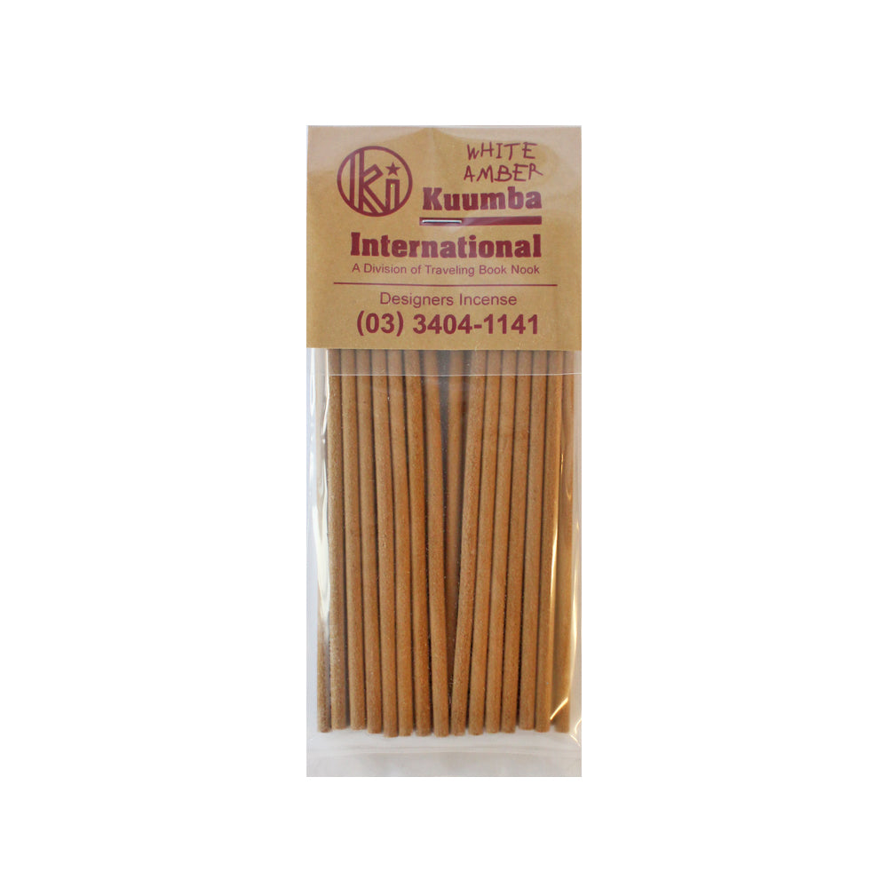 KUUMBA INCENSE - WHITE AMBER