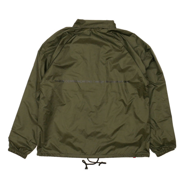 "COLOR COMMUNICATIONS - STATION PATCH COACH JACKET ""D.Olive"""