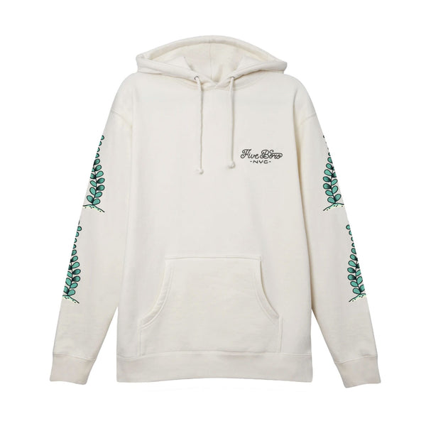"5BORO - 5B Catfish Pullover Hoody ""Bone white"""
