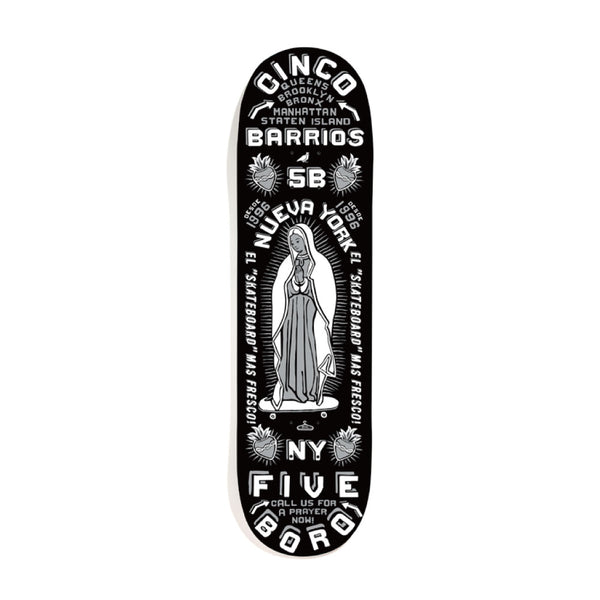"5BORO - Cinco Barrios  ""Black""  8.25"""