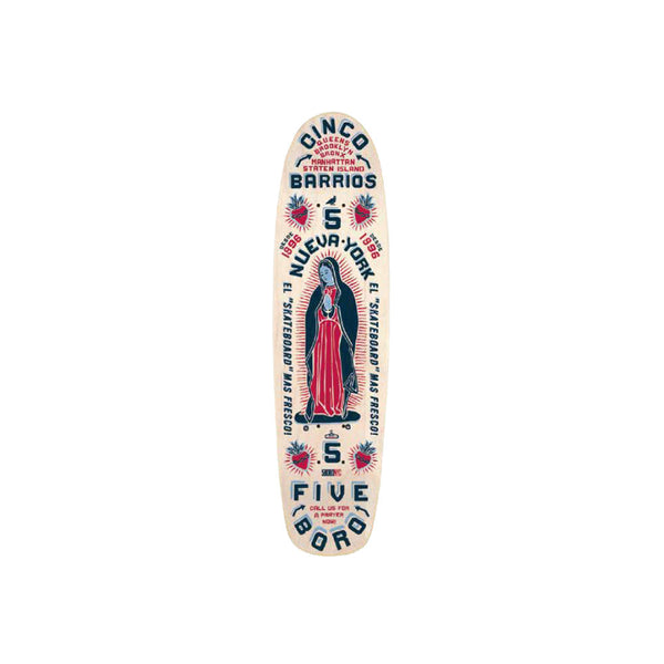 5BORO - Cinco Barrios   Cruiser Small  7.6""