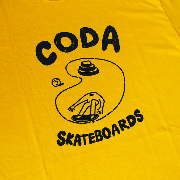 "CODA - Pool Tee ""Gold"""