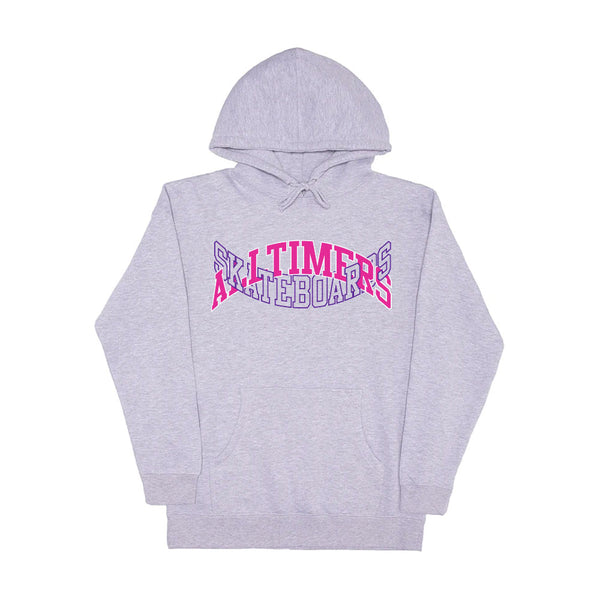 "ALLTIMERS - Arch-Tech Hoodie ""Heather Grey"""