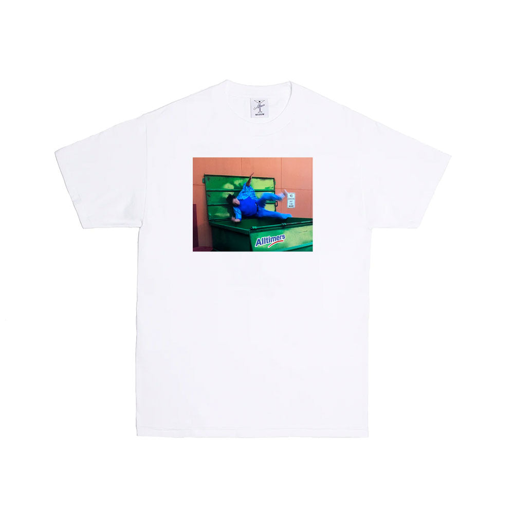 "ALLTIMERS - Dirty Work Tee ""White"""