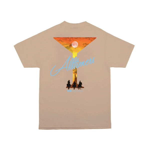 "ALLTIMERS - 3 Amigos Tee ""Sand"""