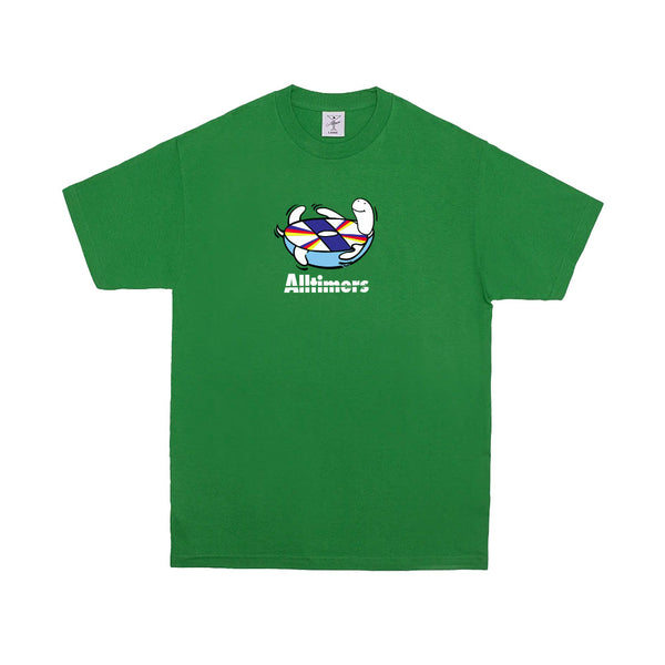 "ALLTIMERS - Spin Tee ""Kelly Green"""