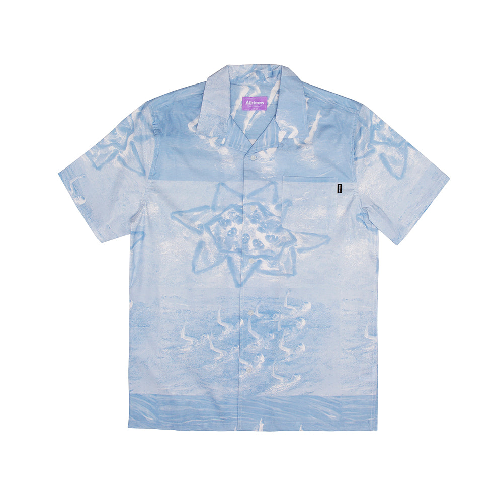 "ALLTIMERS  - Sync Up Button Up ""Blue"""